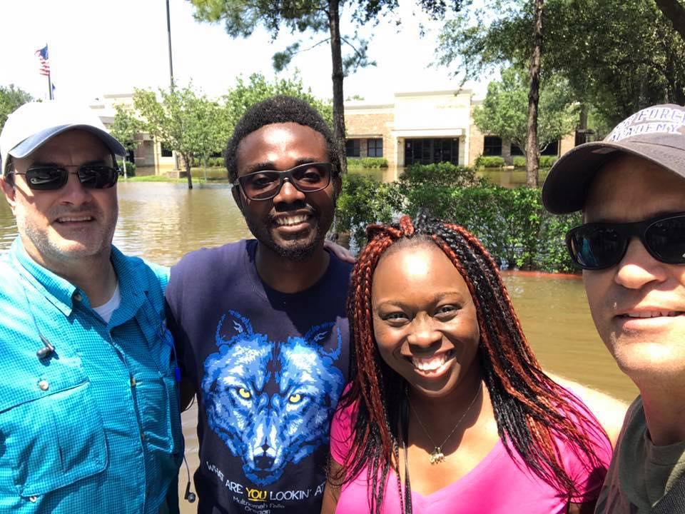 Dr Mulikat A Adetosoye Houston Flood
