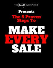 make every sale keynote