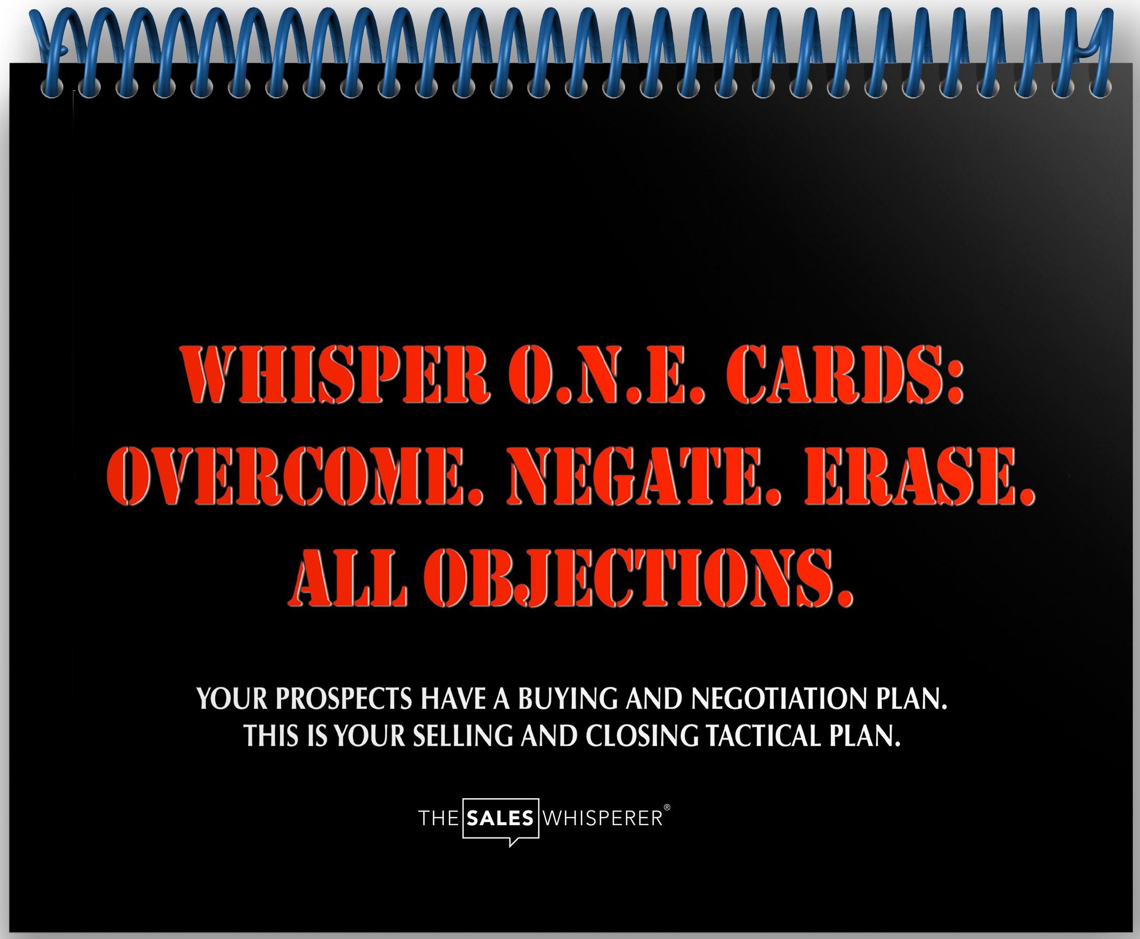 Get The Sales Whisperer® Flash Cards