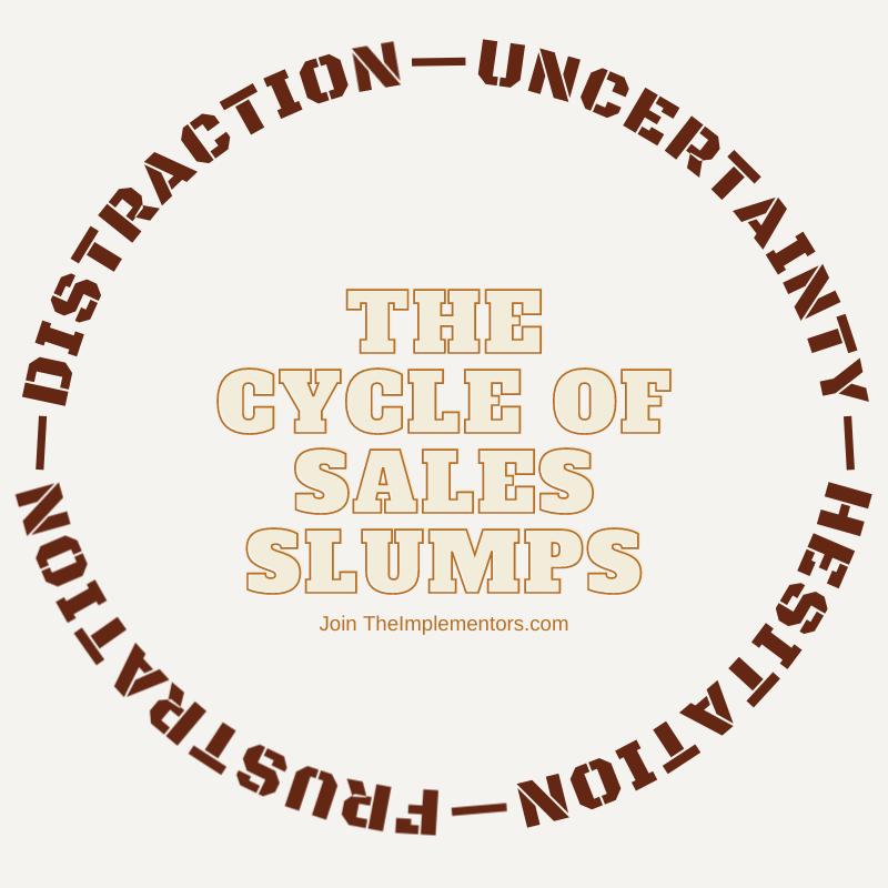 sales slump cycle